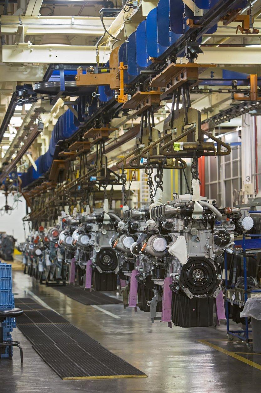 Dizelski motori za kamione u tvornici Daimlera