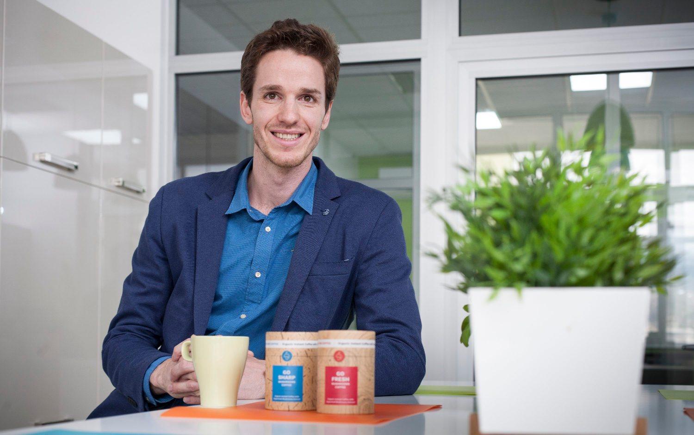 Stipe Režić, tvorac startupa Mushroom Coffee