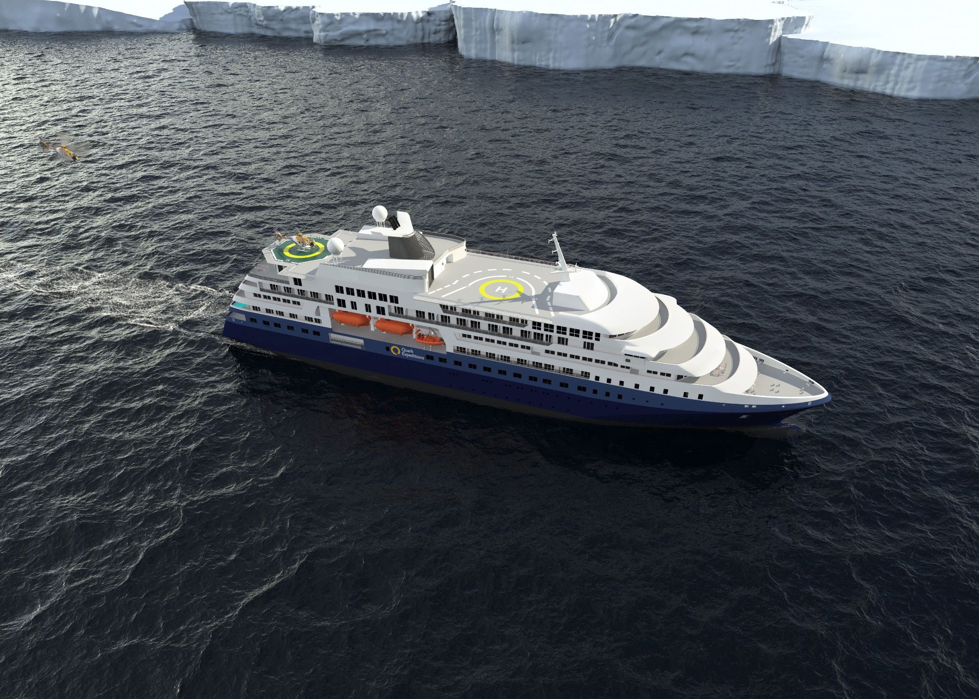 Ilustracija: Kruzer klase Polar Class 6