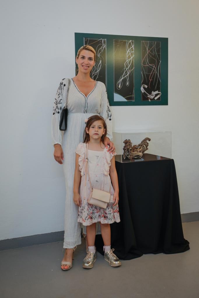 Mirta Šurjak i kćerkica Chiara