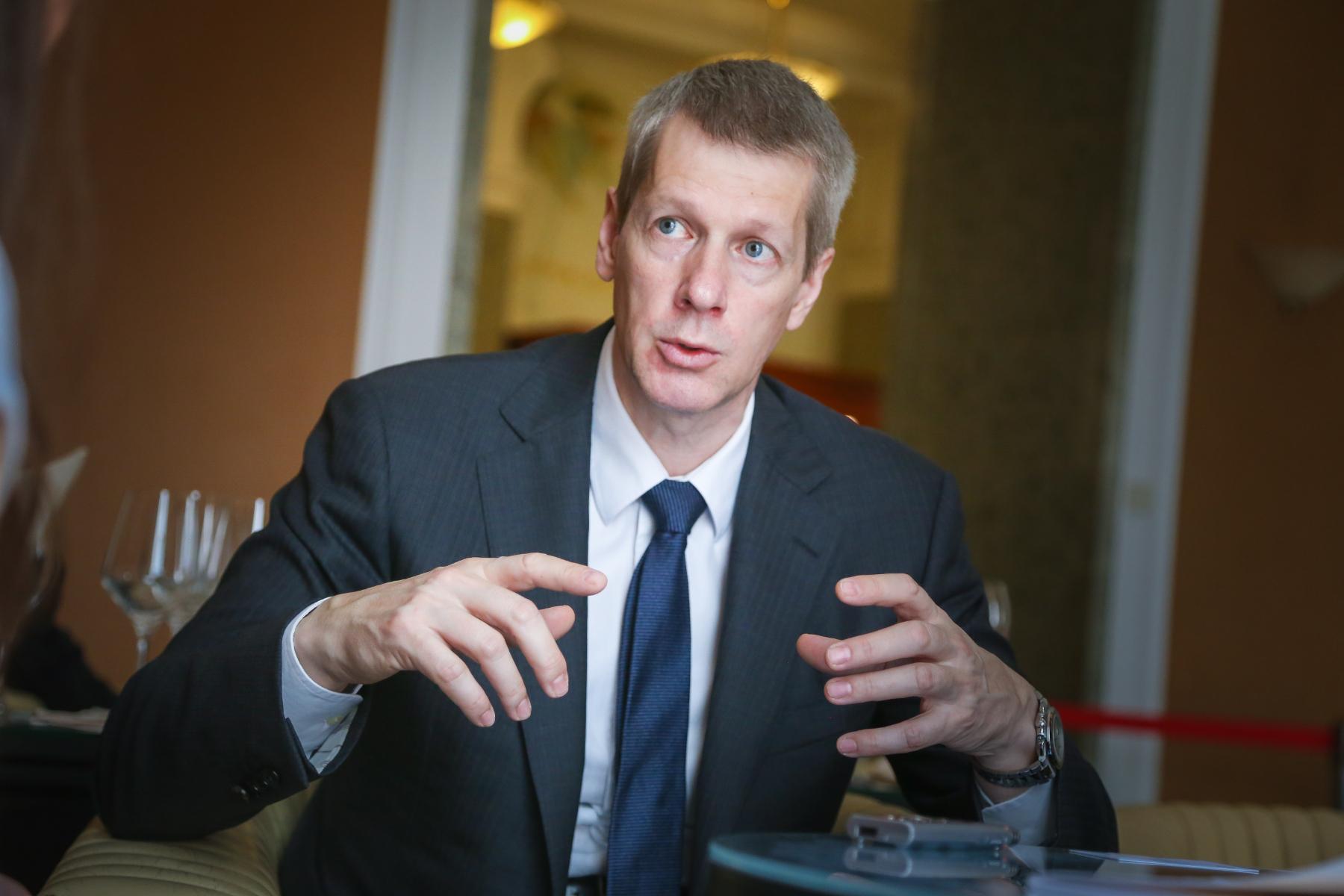 Leonid Mukhamedov, izvršni dopredsjednik europskih operacija u međunarodnoj kompaniji Schneider Electric