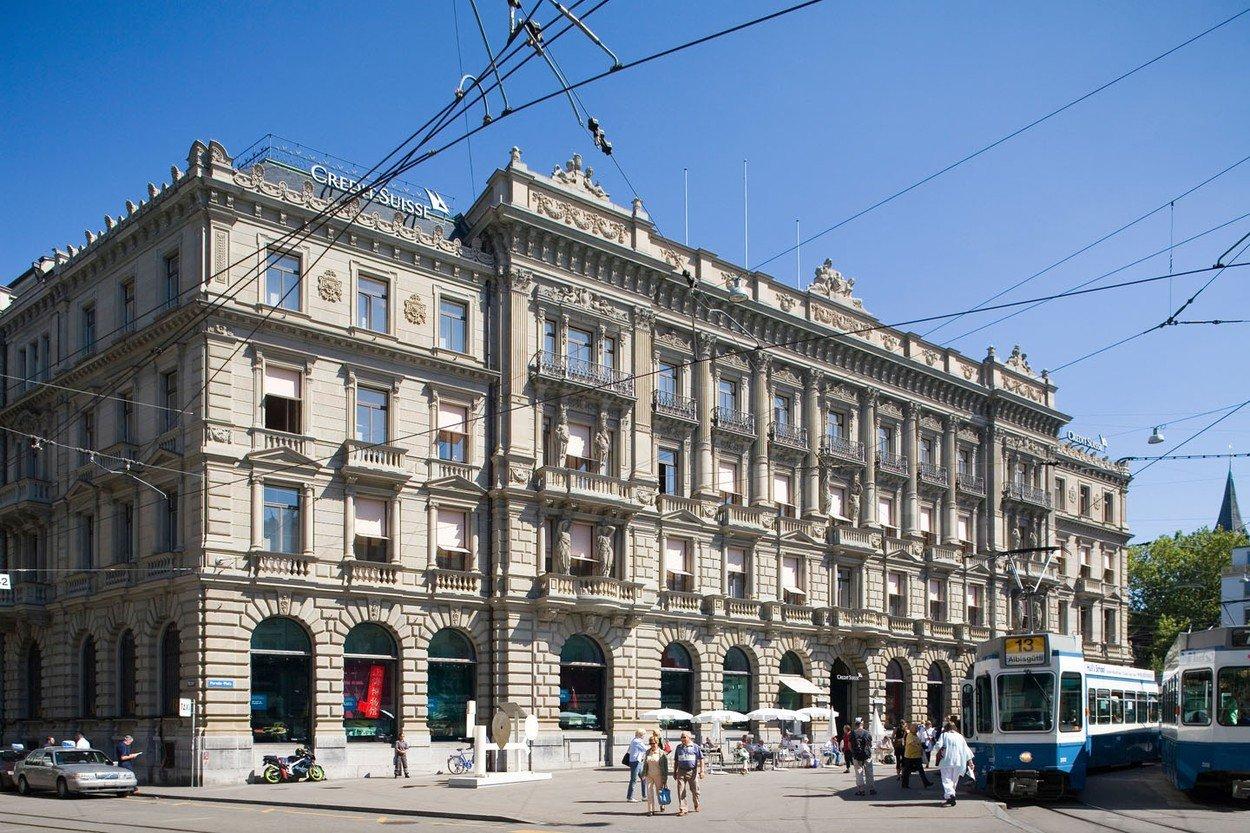Credit Suisse banka