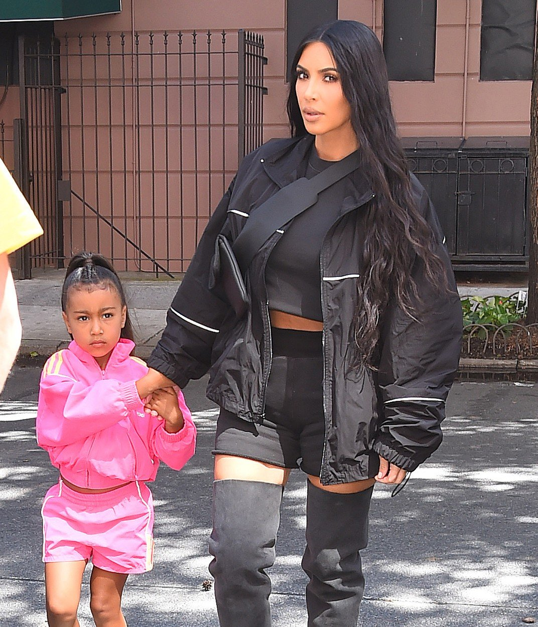 Kim Kardashian takes North out for ice cream. 14 Jun 2018, Image: 374921910, License: Rights-managed, Restrictions: World Rights, Model Release: no, Credit line: Profimedia, Mega Agency