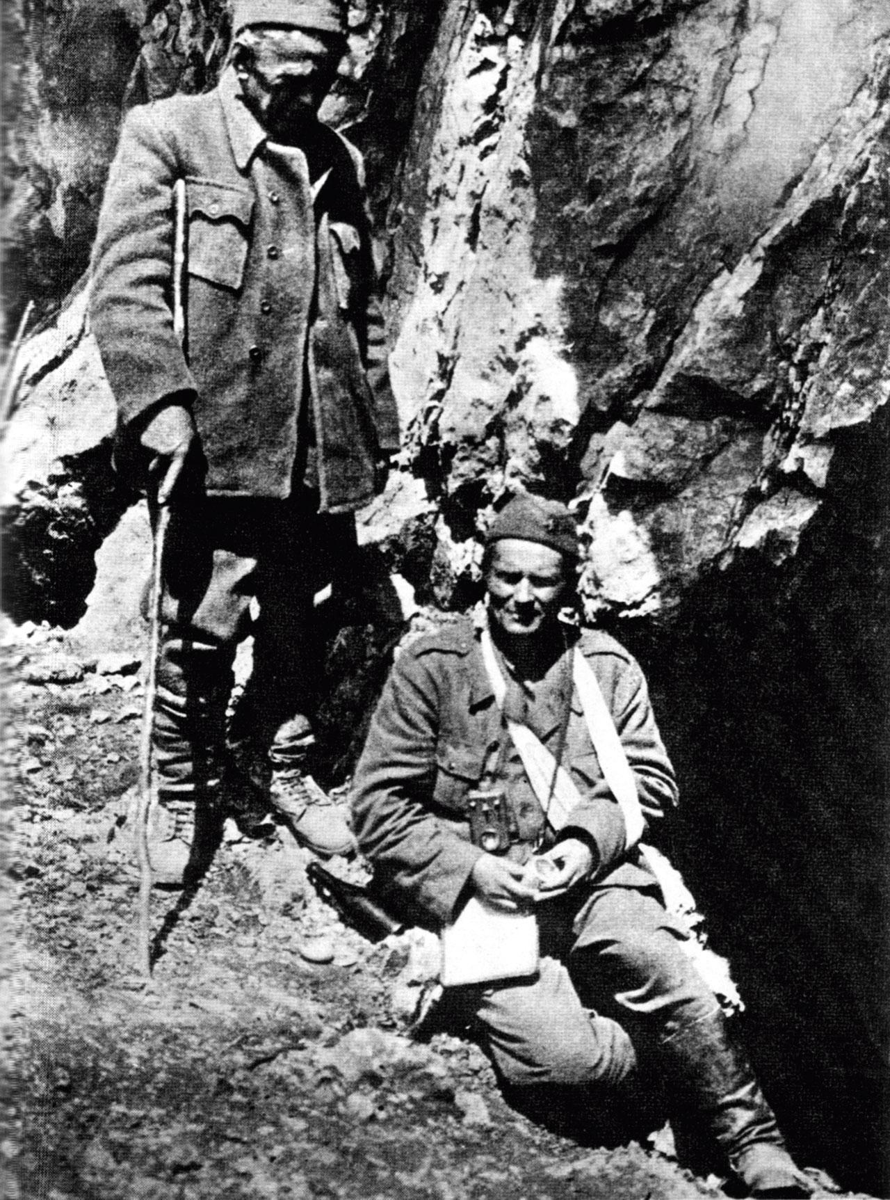 Josip Broz Tito na Sutjesci