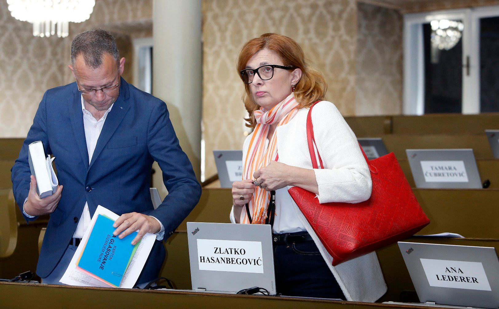 Zlatko Hasanbegović i Ana Lederer