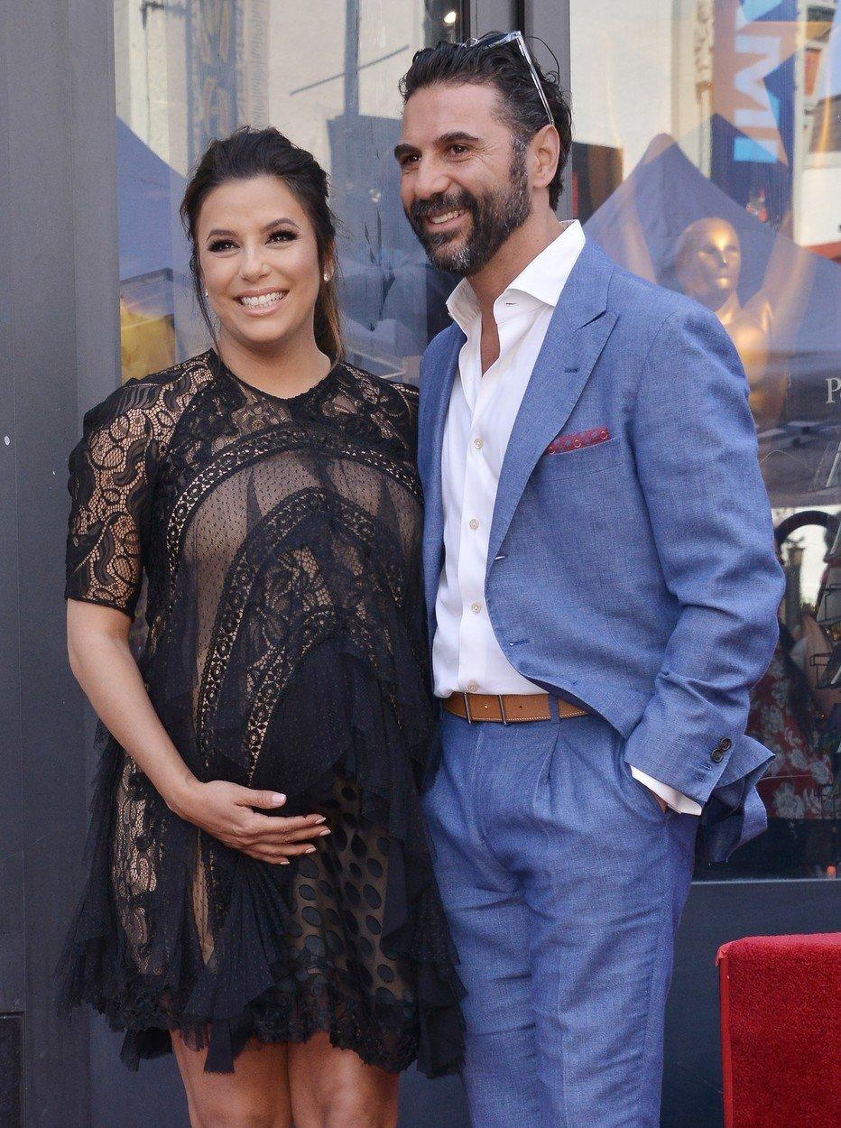 Eva Longoria i José Antonio Pepe Baston