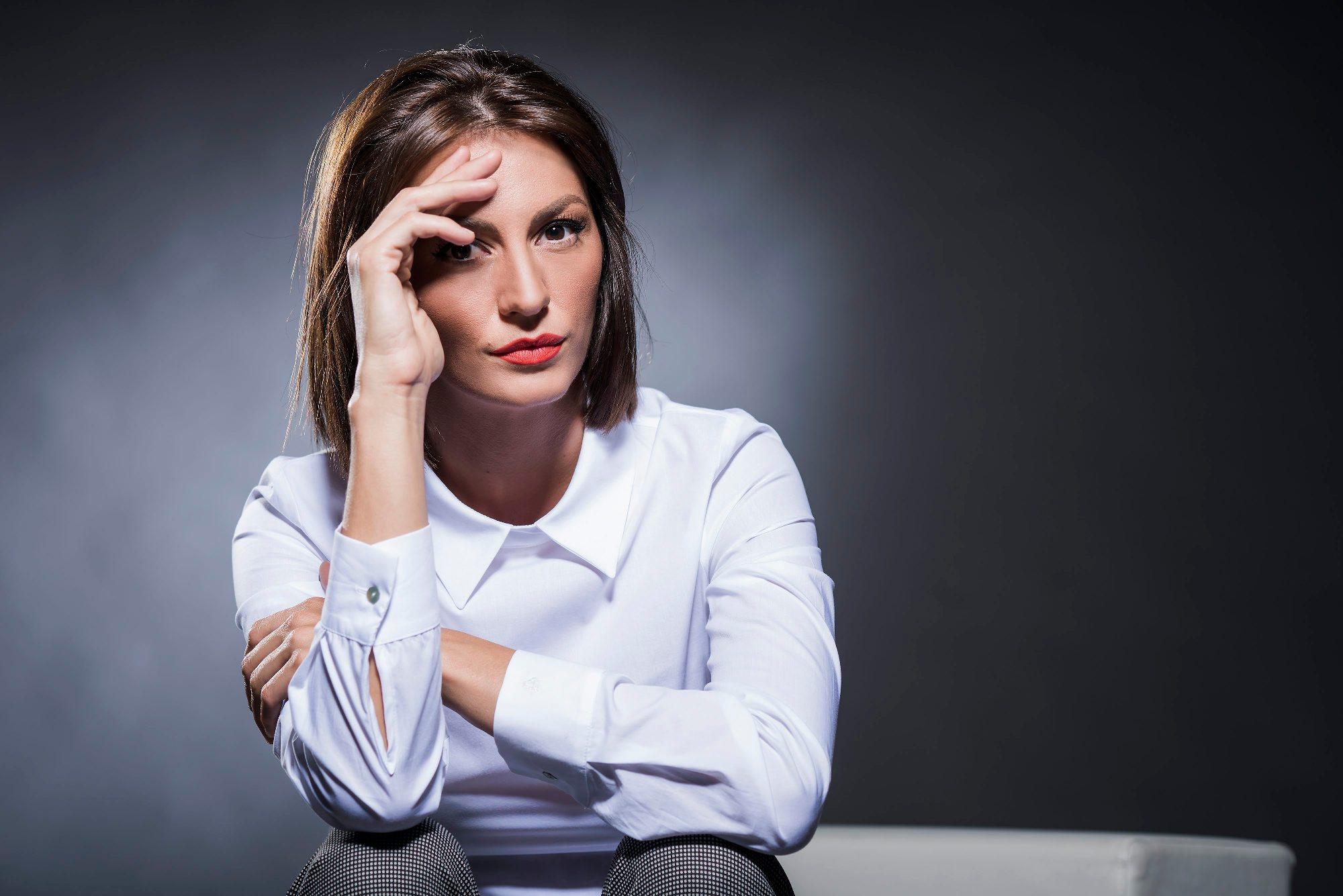 Zagreb, 290816.  Ivana Paradzikovic, urednica emisije Provjereno Nove Tv. Foto: Neja Markicevic / CROPIX