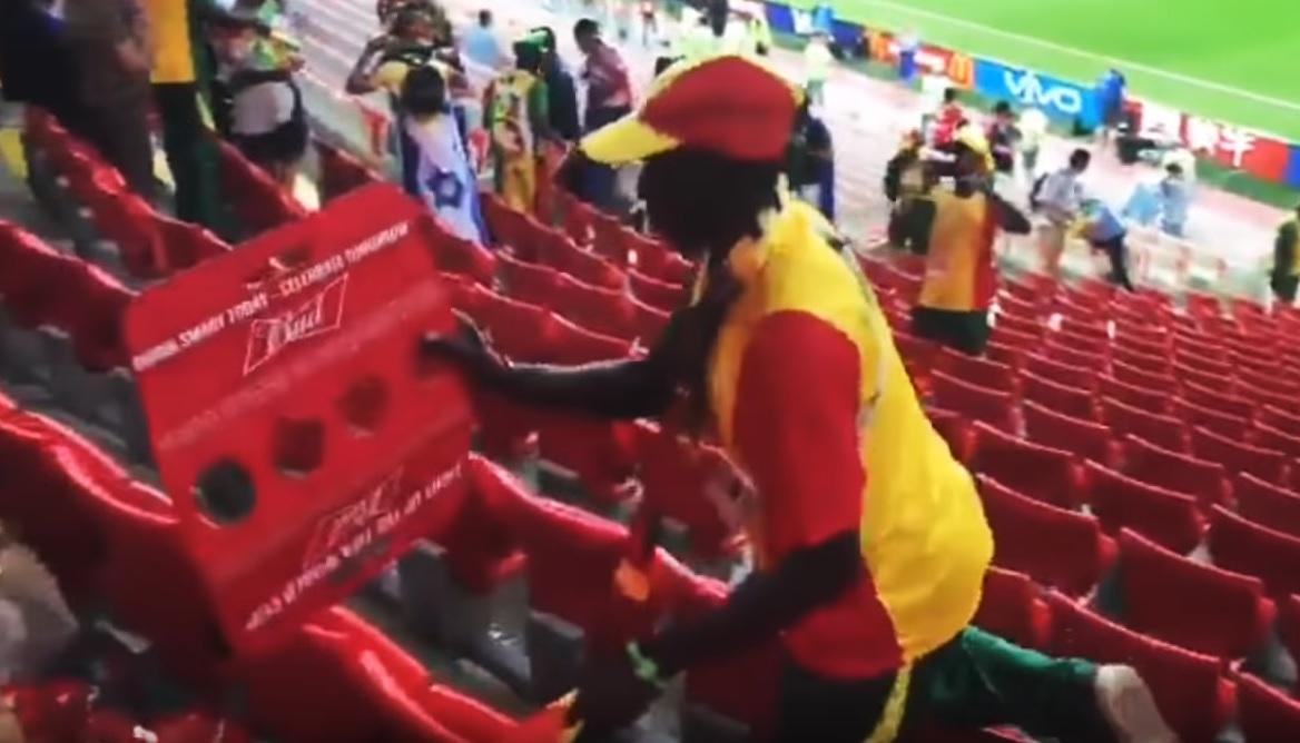 navijači Senegala