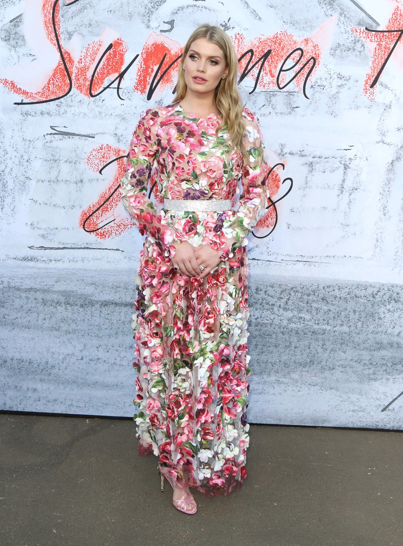 London, UK. Lady Kitty Spencer at The Serpentine Gallery Summer Party at the Serpentine Gallery, Kensington Gardens, London on Tuesday 19 June 2018, Image: 375509702, License: Rights-managed, Restrictions: WORLD WIDE RIGHTS, Model Release: no, Credit line: Profimedia, Landmark