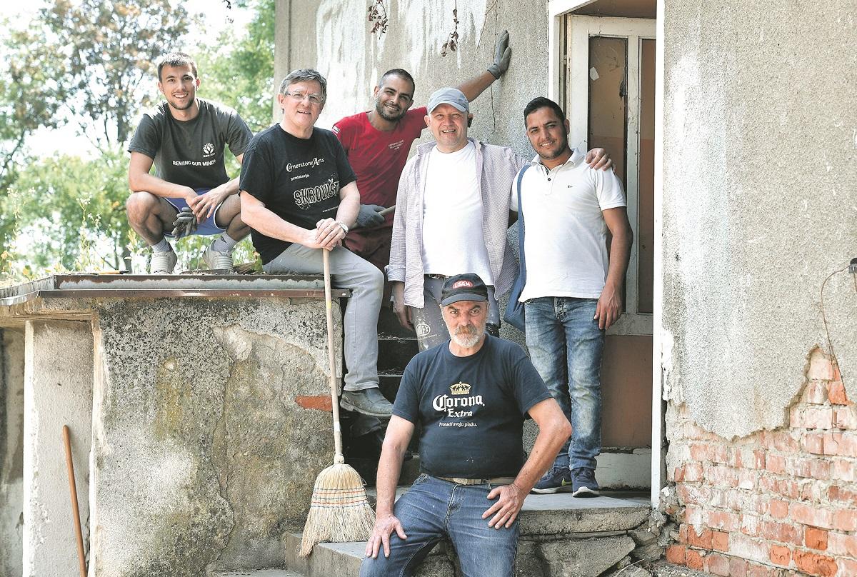Stjepan Nadj, Mihail Kreko, Mohammad, Dragutin Kuoerez, Omid, Dragan Bicanic