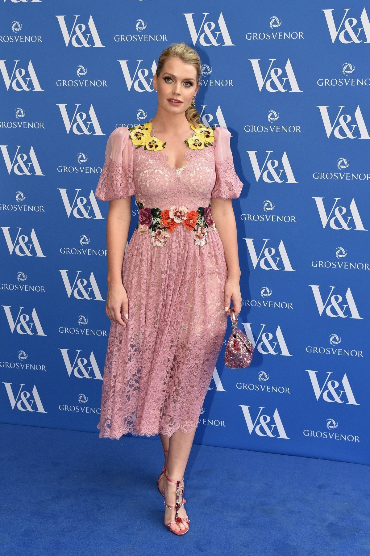 BGUK_1261785 - London, UNITED KINGDOM  - Lady Kitty Spencer at the Frida Kahlo V&A VIP Private Preview at the Victoria & Albert Museum in London, UK.  Pictured: Lady Kitty Spencer  BACKGRID UK 13 JUNE 2018, Image: 374802969, License: Rights-managed, Restrictions: , Model Release: no, Credit line: Profimedia, Xposurephotos