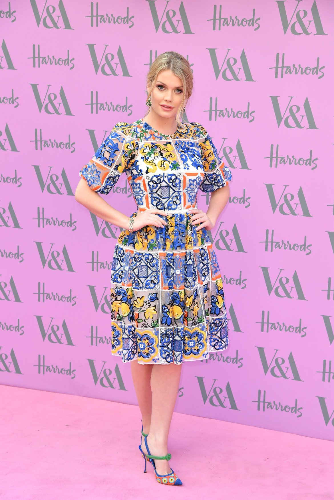 20 June 2018.  V & A summer party 2018 at the V & A Museum, London. Lady Kitty Spencer, Image: 375527643, License: Rights-managed, Restrictions: , Model Release: no, Credit line: Profimedia, Goff Photos