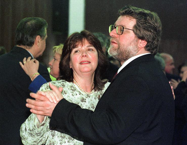 zagreb 200399 zagorci, zlatko vitez sa suprugom foto b.beribak zagorci2-desk-200399