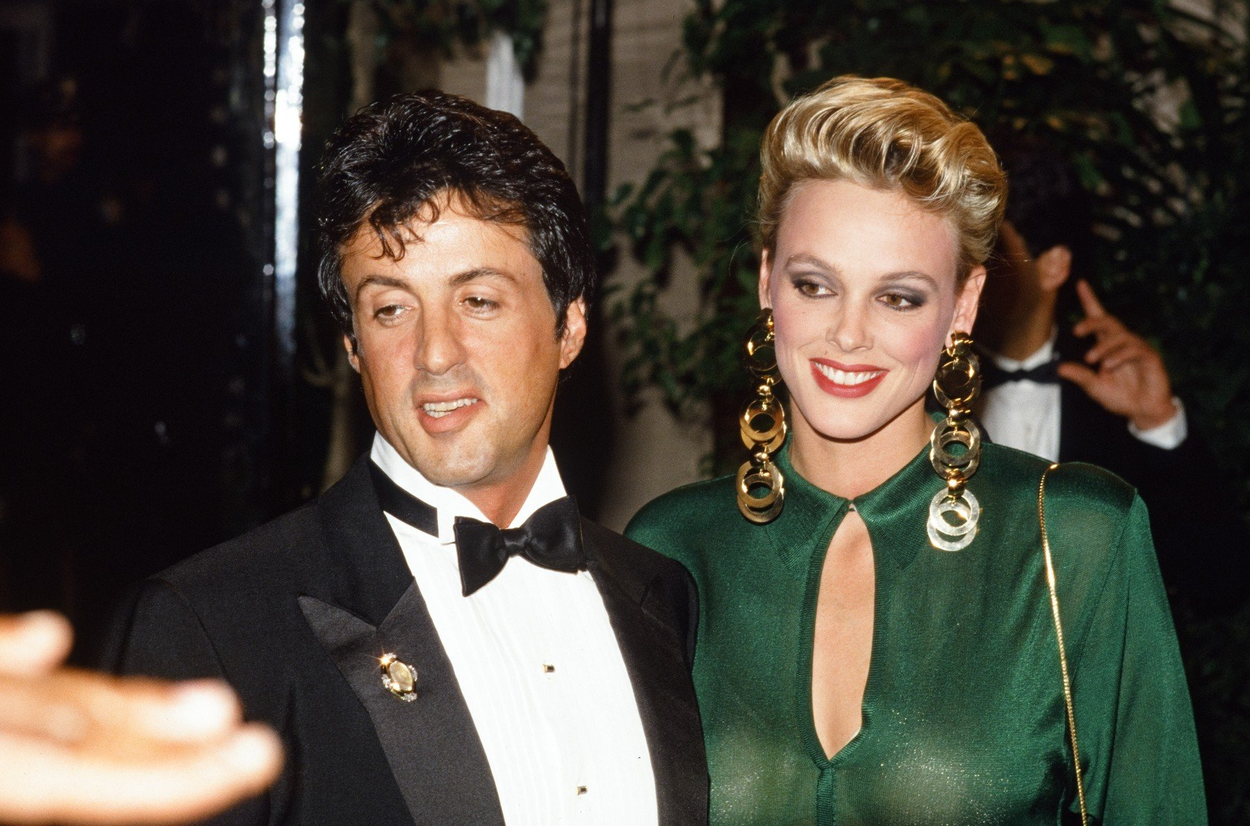 Sylvester Stallone and wife Brigitte Nielsen circa 1985, Image: 180078493, License: Rights-managed, Restrictions: For Editorial Use Only, Model Release: no, Credit line: Profimedia, Hollywood Archive