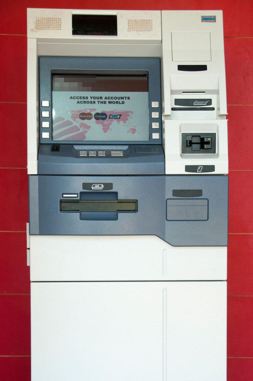 Ilustracija, bankomat
