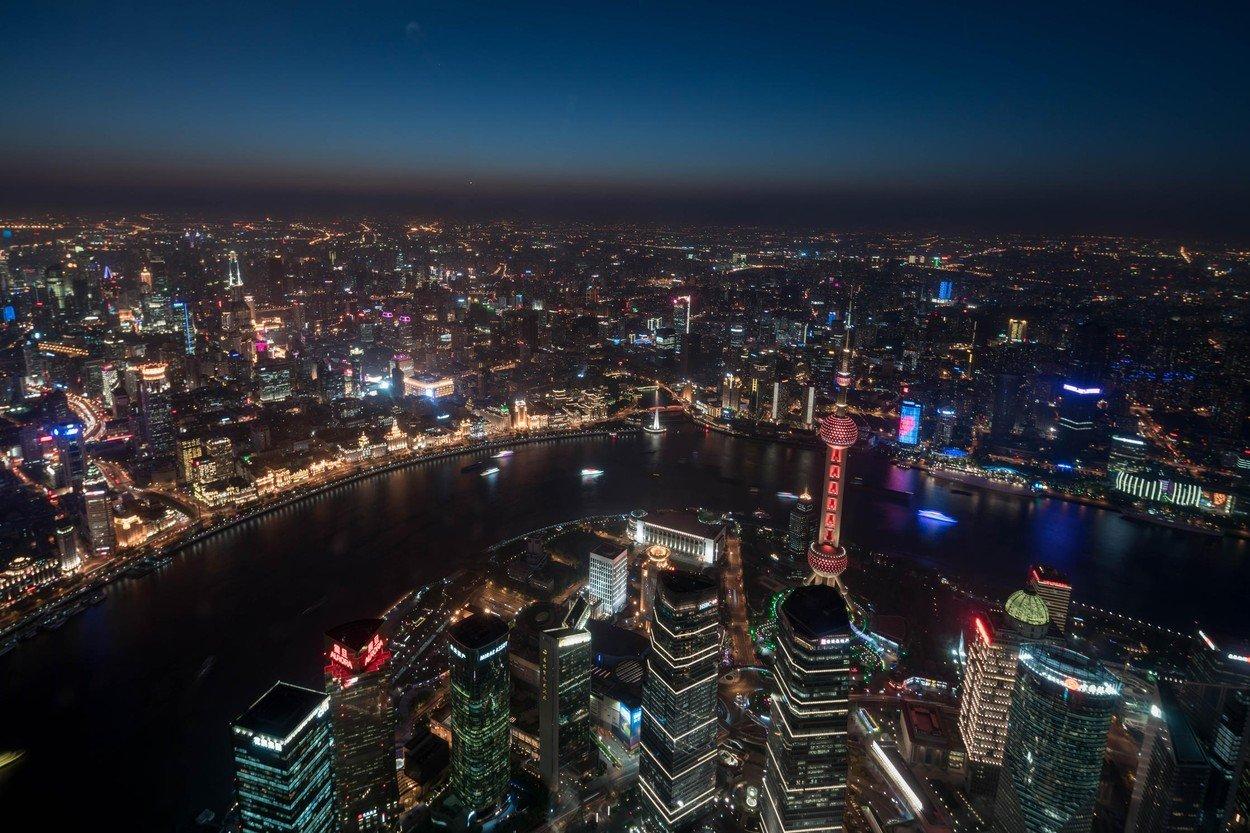 Panorama Šangaja