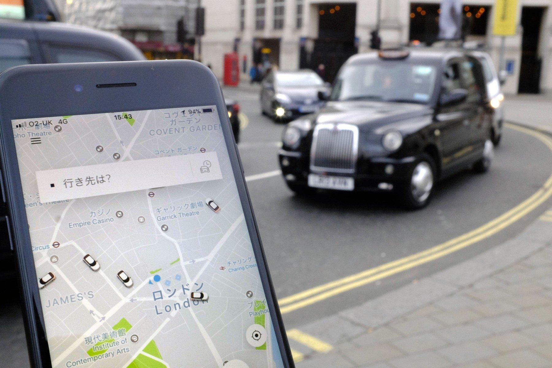 Uber u Londonu