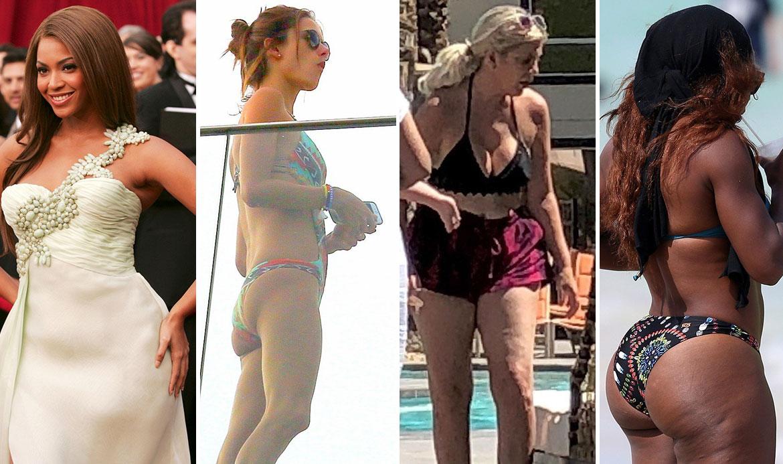Beyoncé Knowles, Alessandra Ambrosio, Tori Spelling, Serena Williams