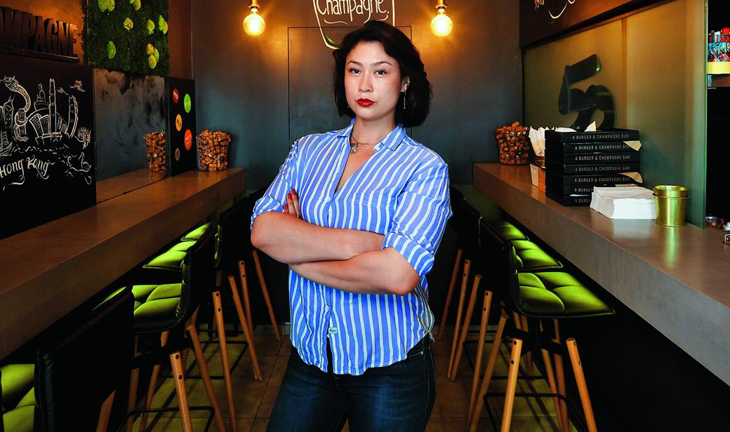 Adena Lavin, vlasnica restorana 50 A Burger&Champagne Bar
