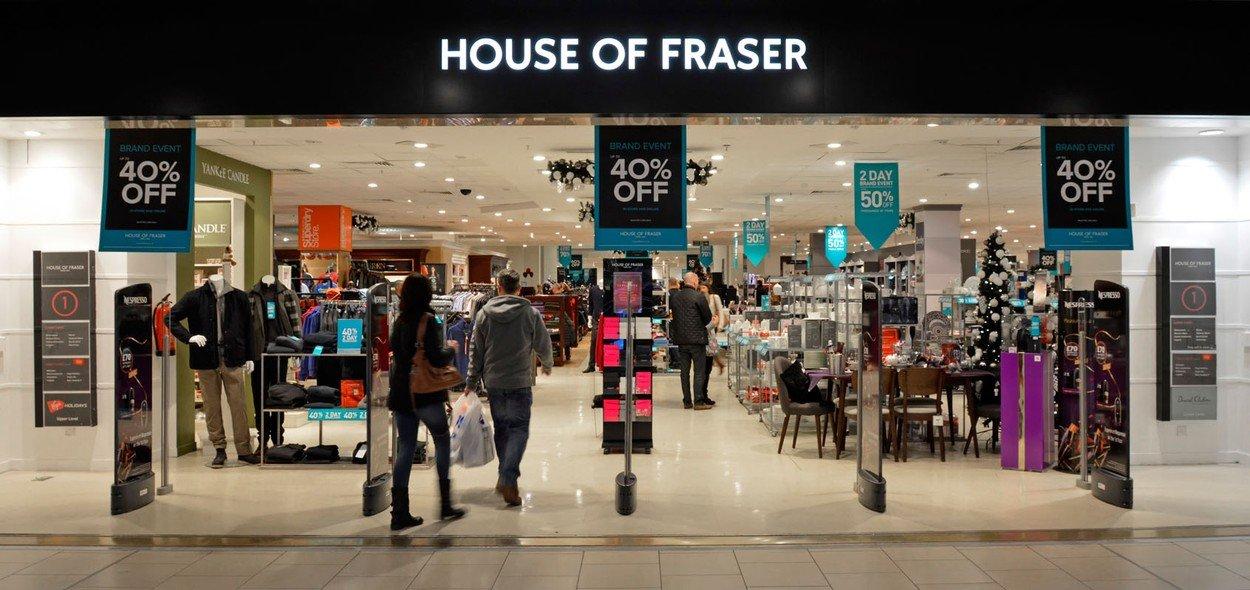 House of Fraser dućan