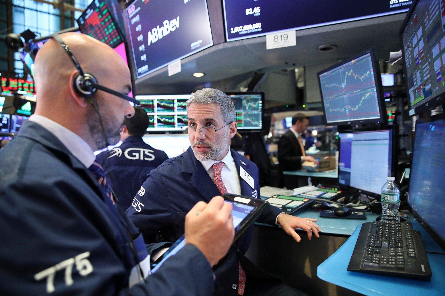 Brokeri na njujorškoj burzi