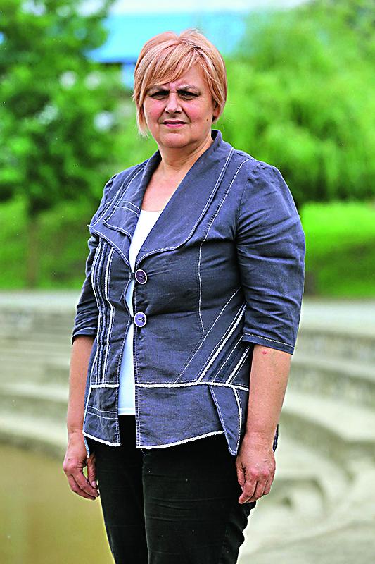 Mursko Sredisce, 250518. Reportaza o romskim naseljima u okolici Cakovca. Na fotografiji: Visnja Ivacic nacelnica opcine Pribislavec. Foto: Davor Pongracic / CROPIX
