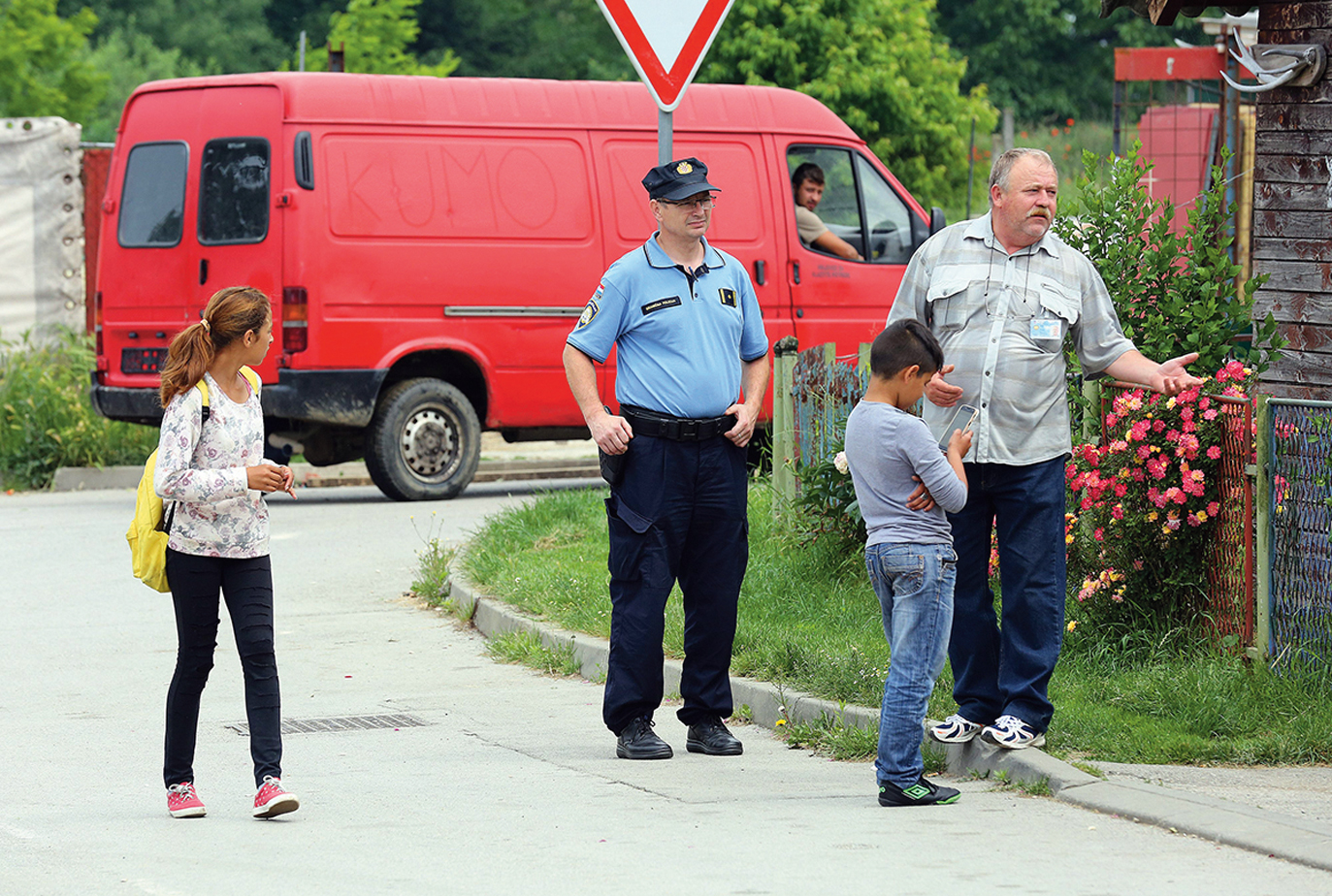 Mursko Sredisce, 250518. Reportaza o romskim naseljima u okolici Cakovca. Foto: Davor Pongracic / CROPIX