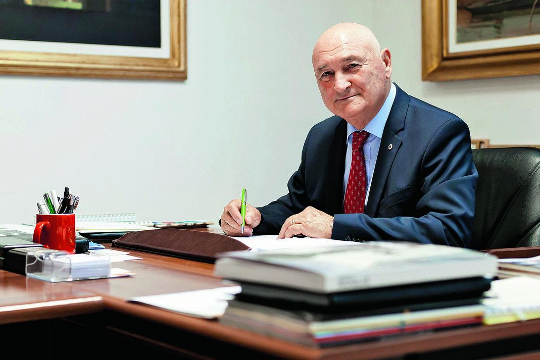 Branko Roglic - predsjednik Orbico grupe