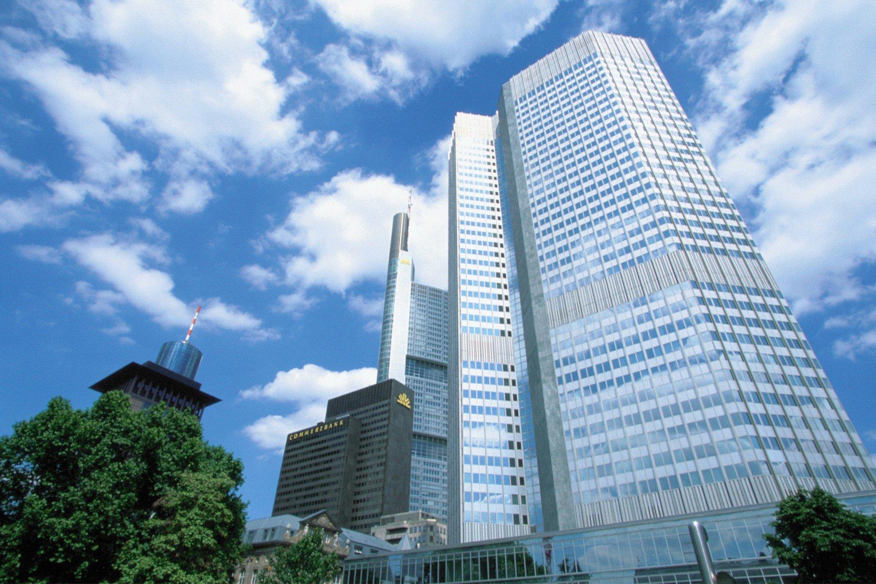 Sjedište Europske centralne banke u Frankfurtu