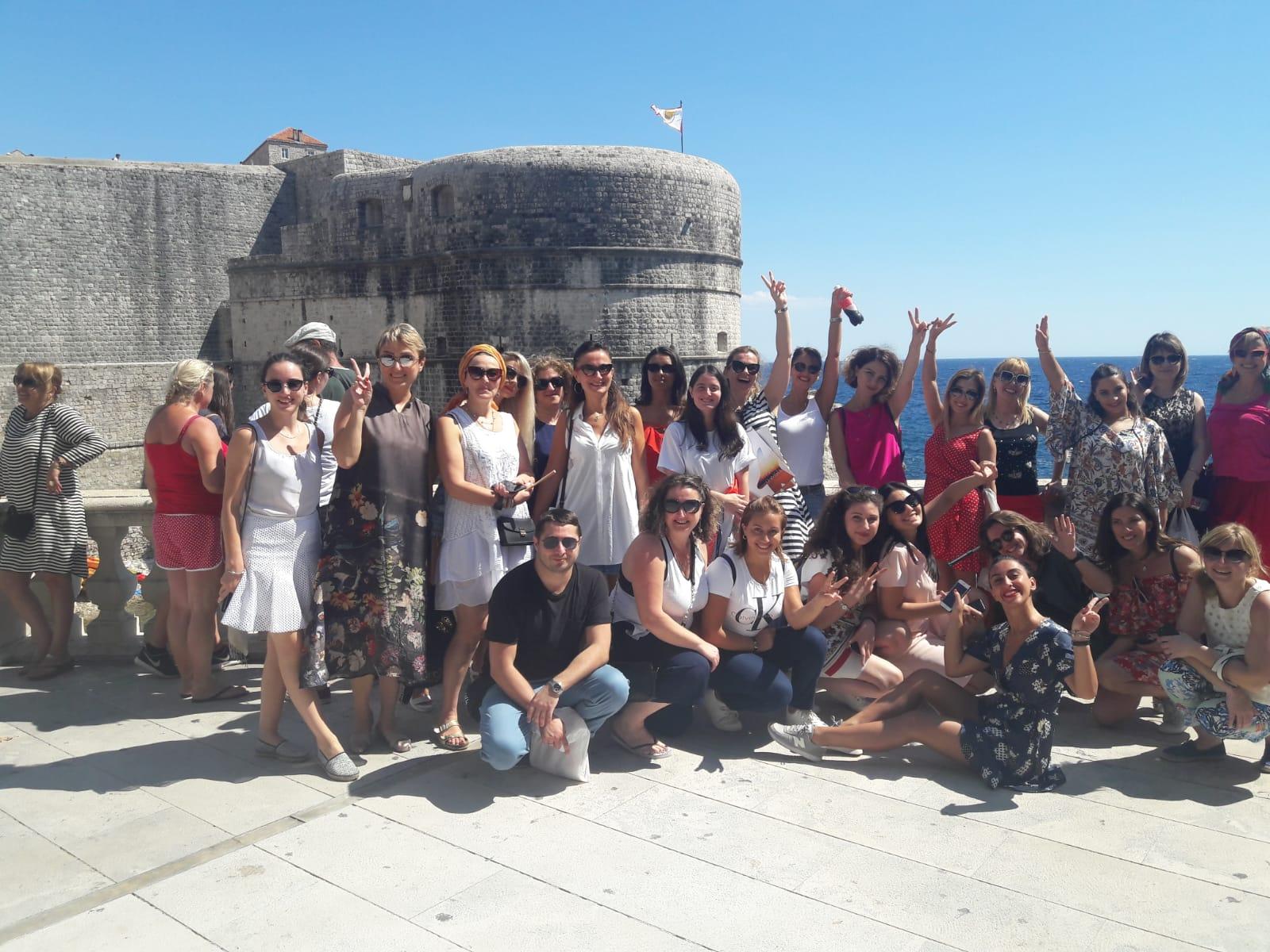 Gruzijski turistički agenti u Dubrovniku