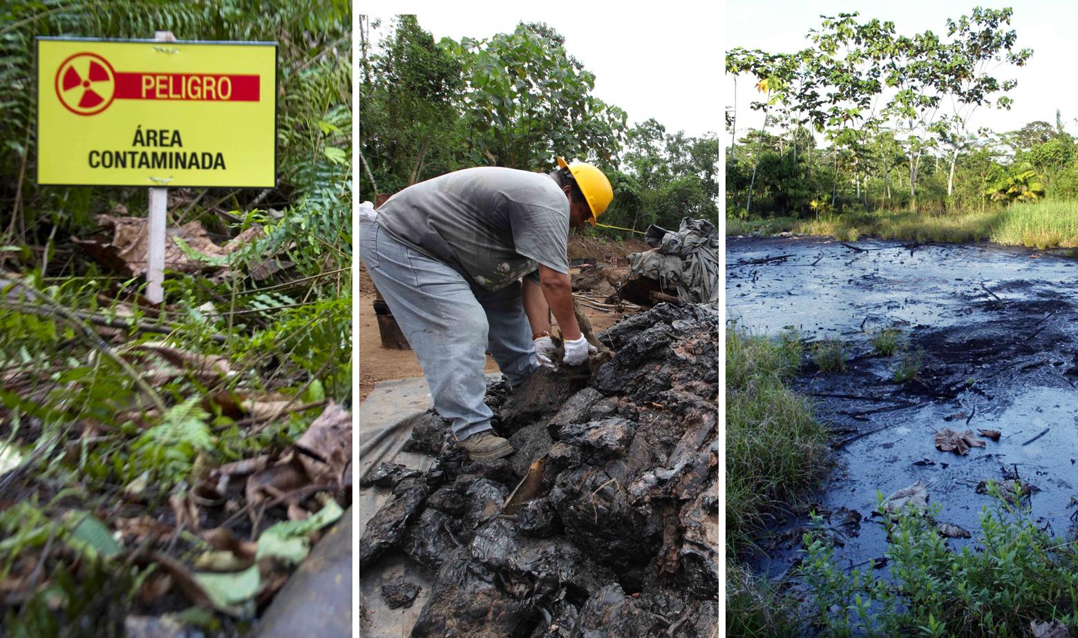 Zagađenje naftom u Ekvadoru