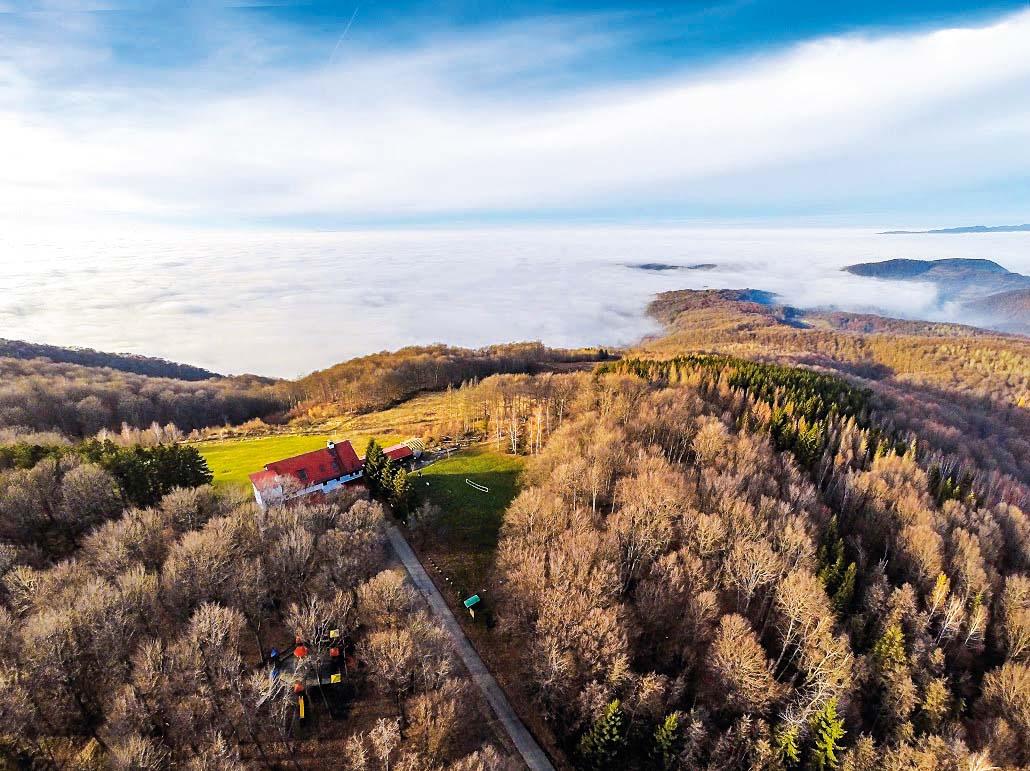 S brda se vide Slavonija i Moslavina