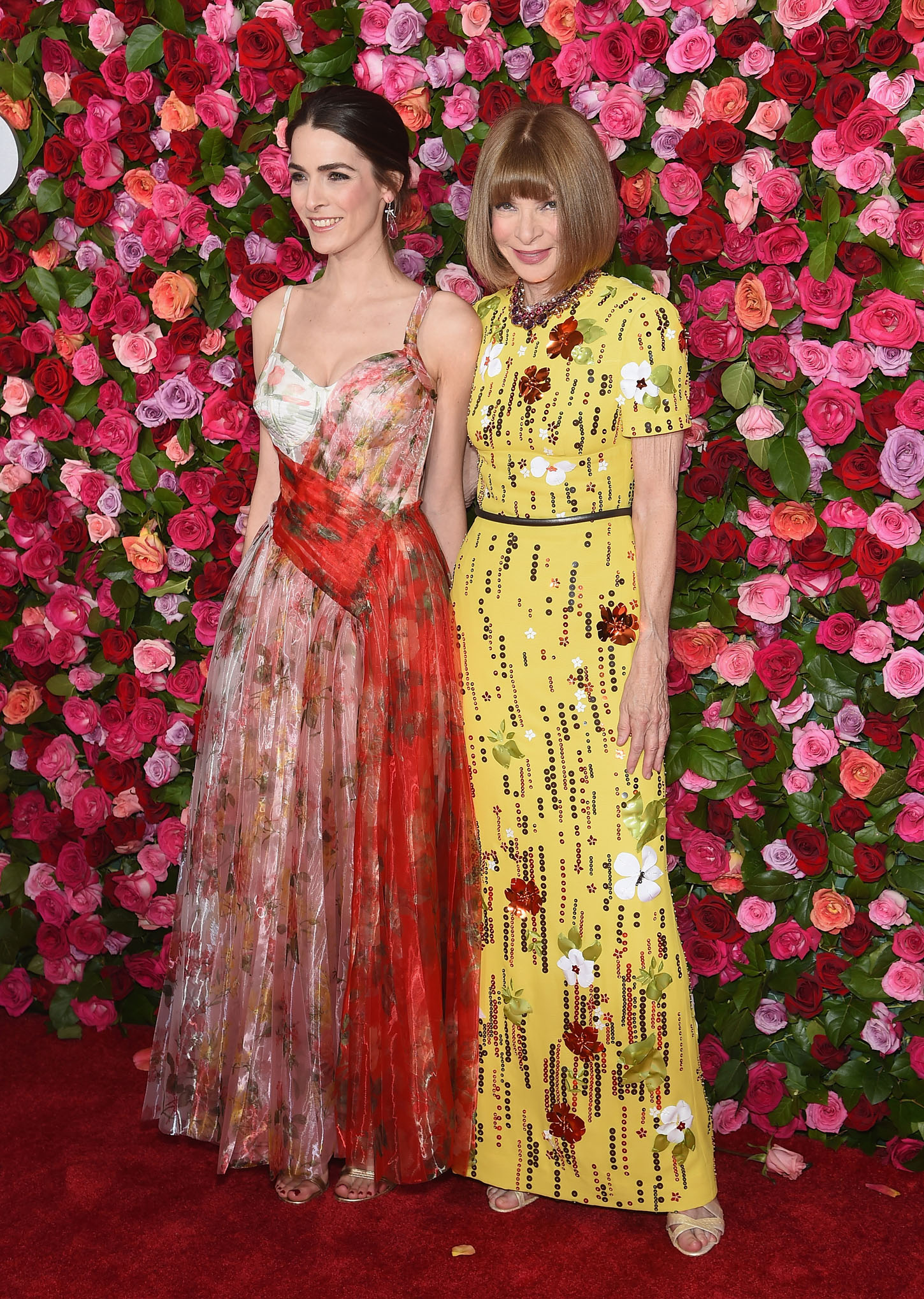 NEW YORK, NY - JUNE 10:  Bee Shaffer and Anna Wintour attend the 72nd Annual Tony Awards at Radio City Music Hall on June 10, 2018 in New York City.  (Photo by Jamie McCarthy/Getty Images)