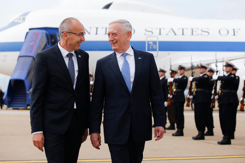 James Mattis i Damir Krstičević