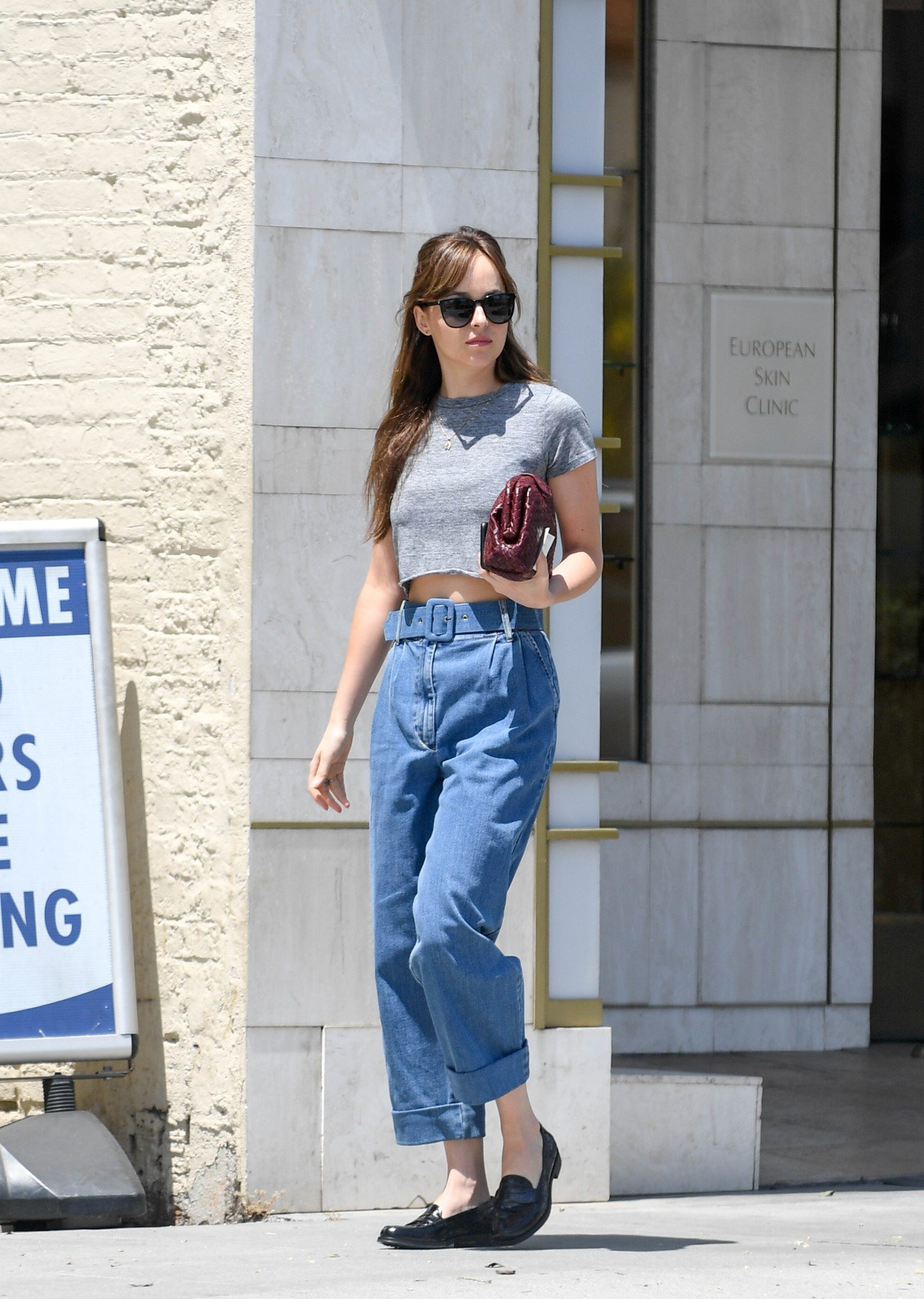 EXCLUSIVE: Dakota Johnson spotted leaving Thibiant in Beverly Hills. 11 Jul 2018, Image: 377579690, License: Rights-managed, Restrictions: World Rights, Model Release: no, Credit line: Profimedia, Mega Agency