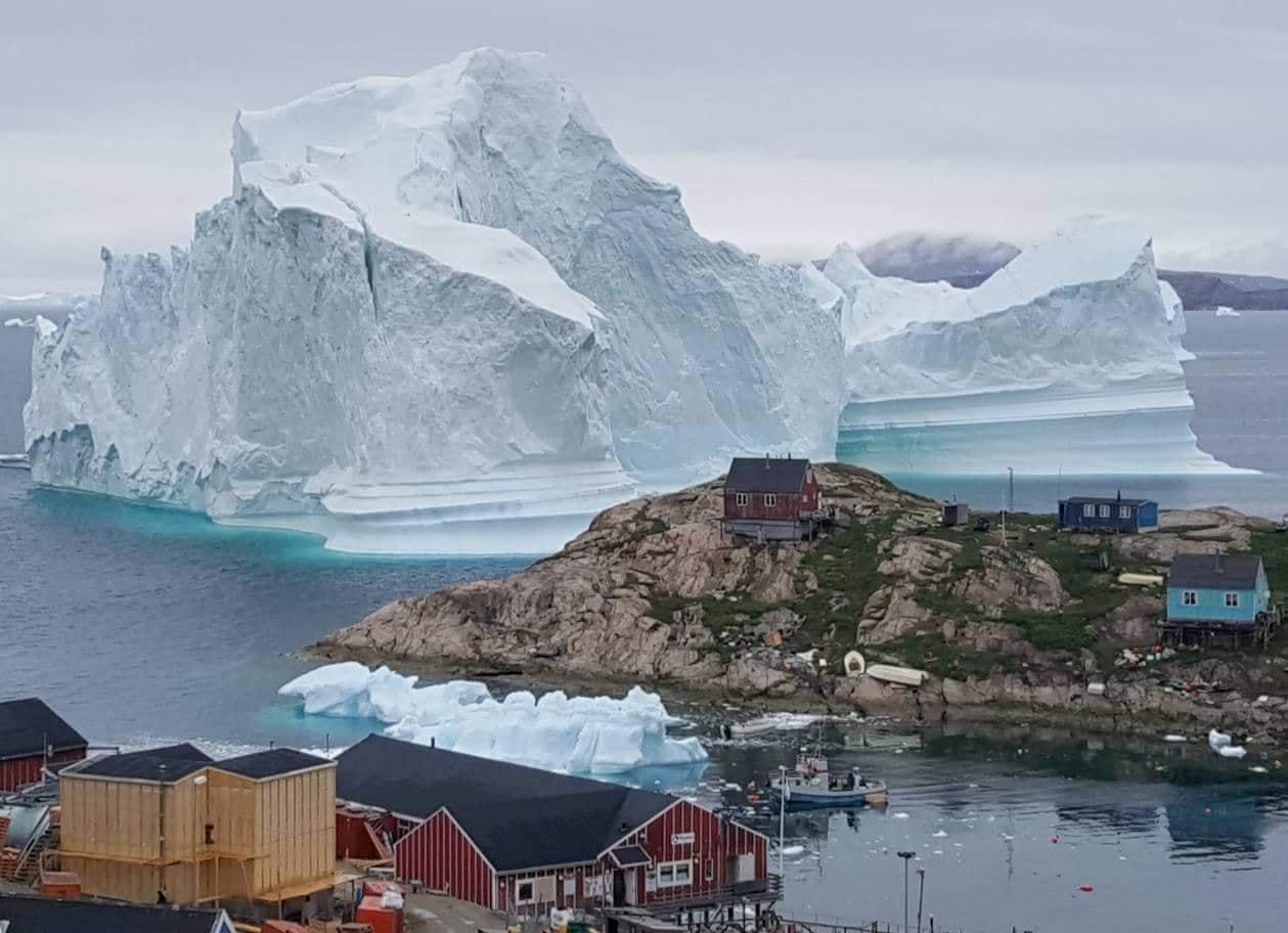 Ledenjak na Grenlandu