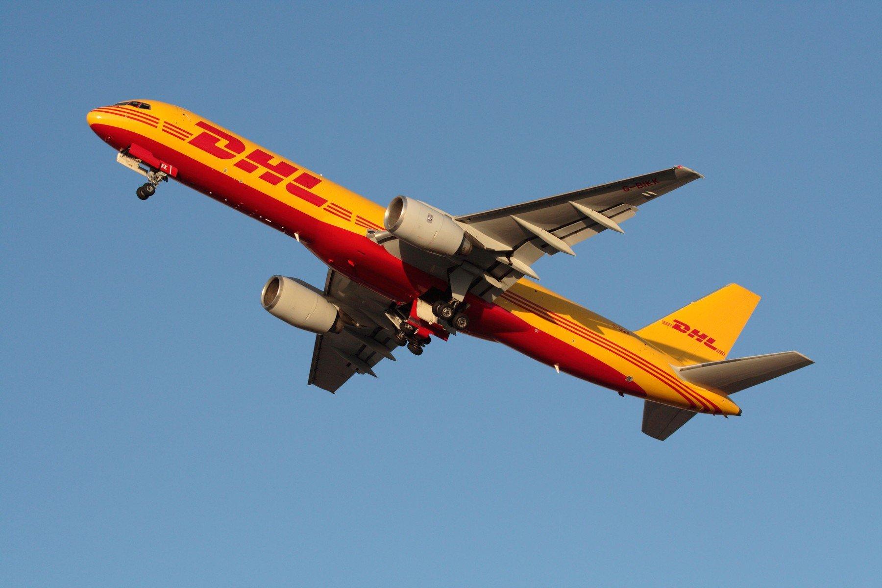 DHL Boeing 757-200F