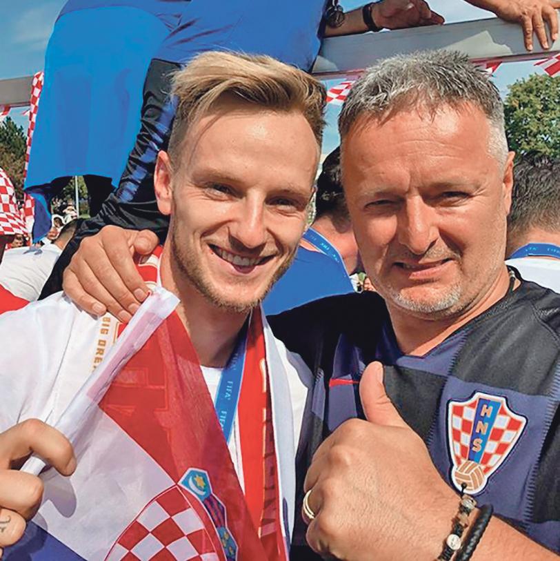 Ivan Rakitić i Marko Perković Thompson