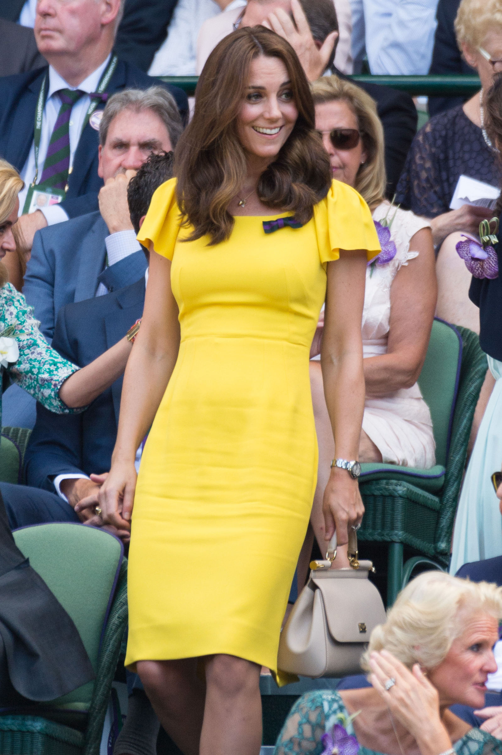 July 15, 2018 - London, United Kingdom - The mens singles finals in the royal box on the 13th day of the Wimbledon Tennis Championships 2018 held at the All England Lawn Tennis and Croquet Club. (Credit Image: ? Ray Tang via ZUMA Press)  Pictured: Kate Duchess of  Cambridge Ref: SPL5010143 150718 NON-EXCLUSIVE Picture by: SplashNews.com  Splash News and Pictures Los Angeles: 310-821-2666 New York: 212-619-2666 London: 0207 644 7656 Milan: +39 02 4399 8577 Sydney: +61 02 9240 7700 photodesk@splashnews.com  World Rights, No Argentina Rights, No Belgium Rights, No China Rights, No Czechia Rights, No Finland Rights, No Hungary Rights, No Japan Rights, No Mexico Rights, No Netherlands Rights, No Norway Rights, No Peru Rights, No Portugal Rights, No Slovenia Rights, No Sweden Rights, No Switzerland Rights, No Taiwan Rights