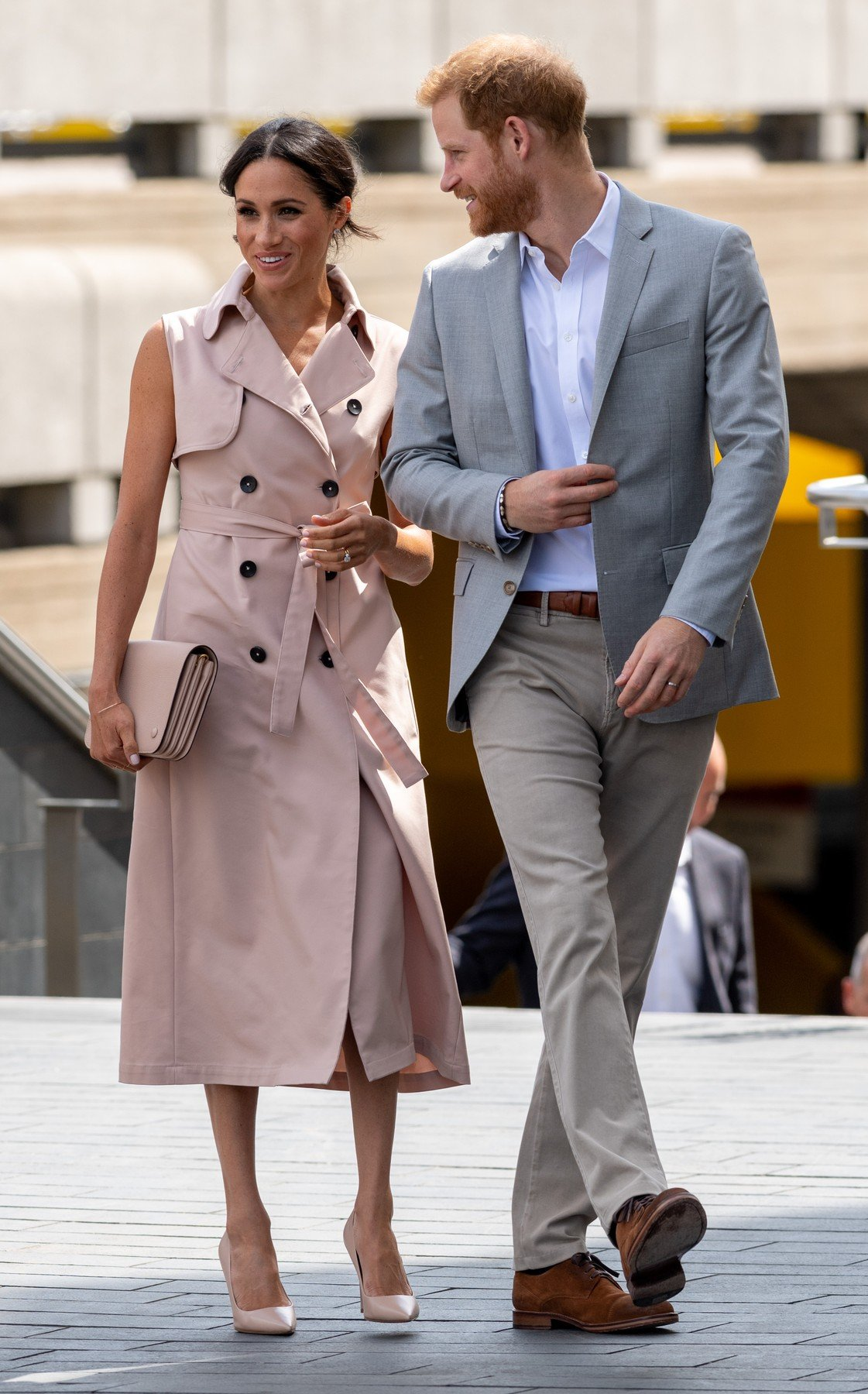 17 July 2018.  Prince Harry, Duke of Sussex and Meghan, Duchess of Sussex visit The Nelson Mandela Centenary Exhibition at Southbank Centre in London., Image: 378092645, License: Rights-managed, Restrictions: , Model Release: no, Credit line: Profimedia, Goff Photos