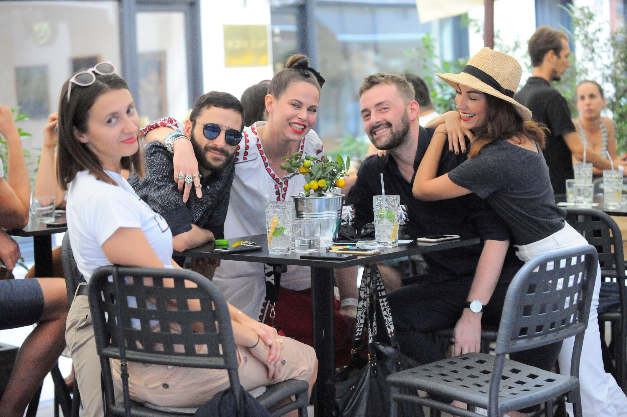 Spica / Zagreb 18.06.2018. / foto: Maja Jurovic / Vjeko Franetovic (Envy Room) i Nikica Ivancevic (Envy Room) i Mia Kovacic i Tatjana Juric