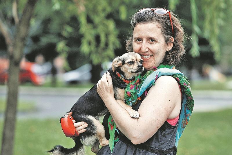 Slavomira Ribarova i pas