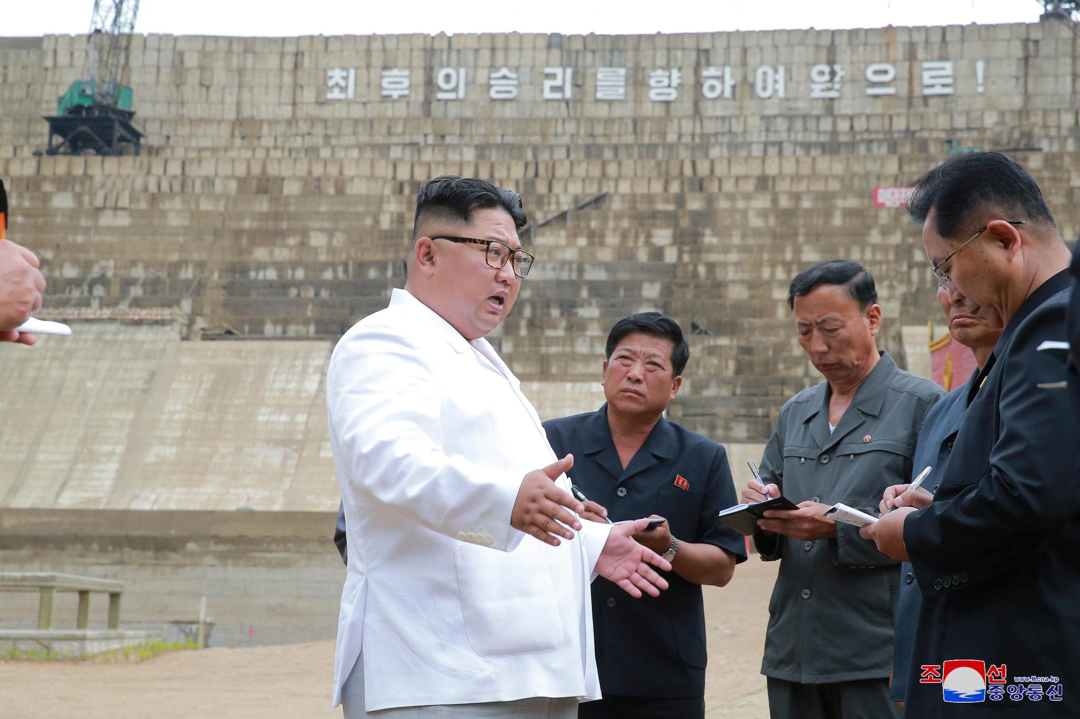Kim Jong-un u inspekciji elektrane Orangčon