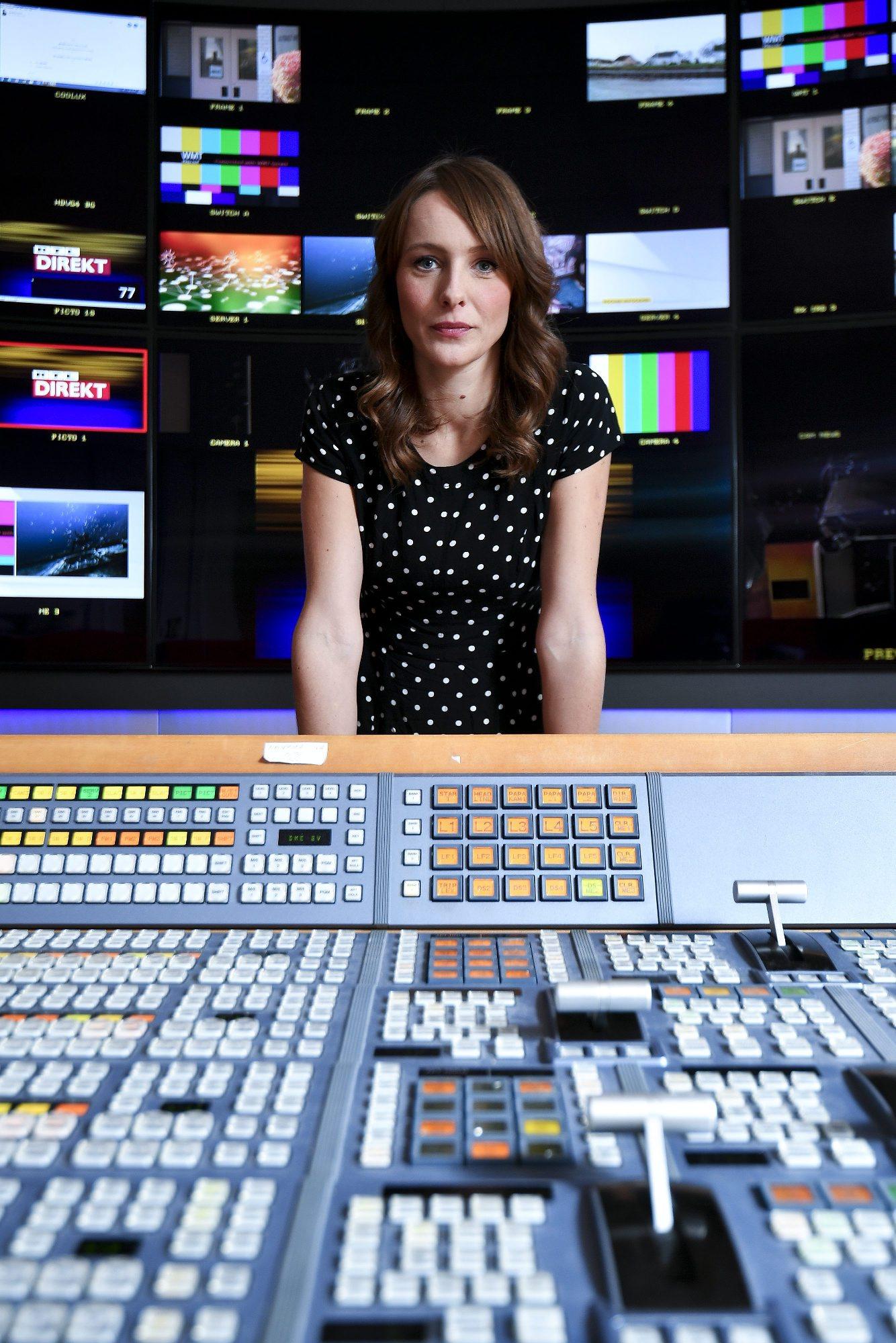 Zagreb, 081116. Mojmira Pastorcic, urednica emisije RTL Direkt, fotografirana u prostorima RTL televizije. Foto: Boris Kovacev / CROPIX