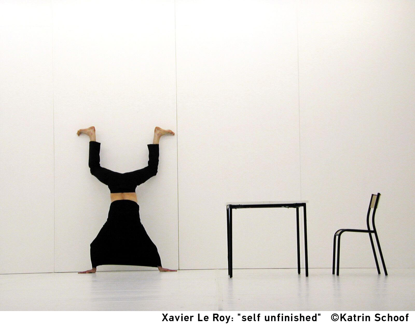 Xavier Le Roy: Self unfinished