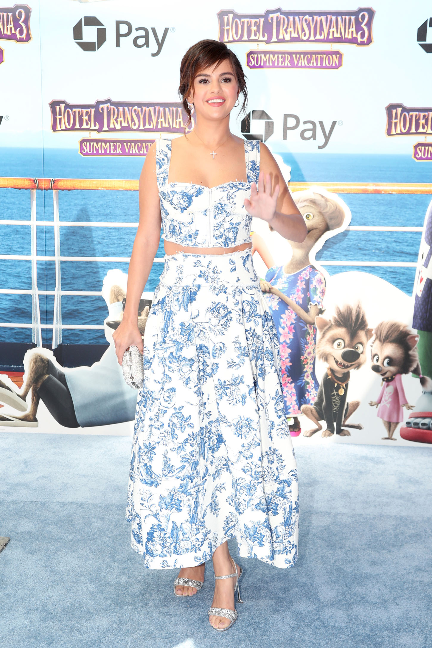 WESTWOOD, CA - JUNE 30:  Selena Gomez attends the Columbia Pictures and Sony Pictures Animation's world premiere of 'Hotel Transylvania 3: Summer Vacation' at Regency Village Theatre on June 30, 2018 in Westwood, California.  (Photo by Christopher Polk/Getty Images)