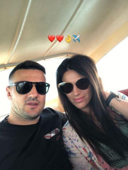 Danijel Subašić i Antonia Bozza