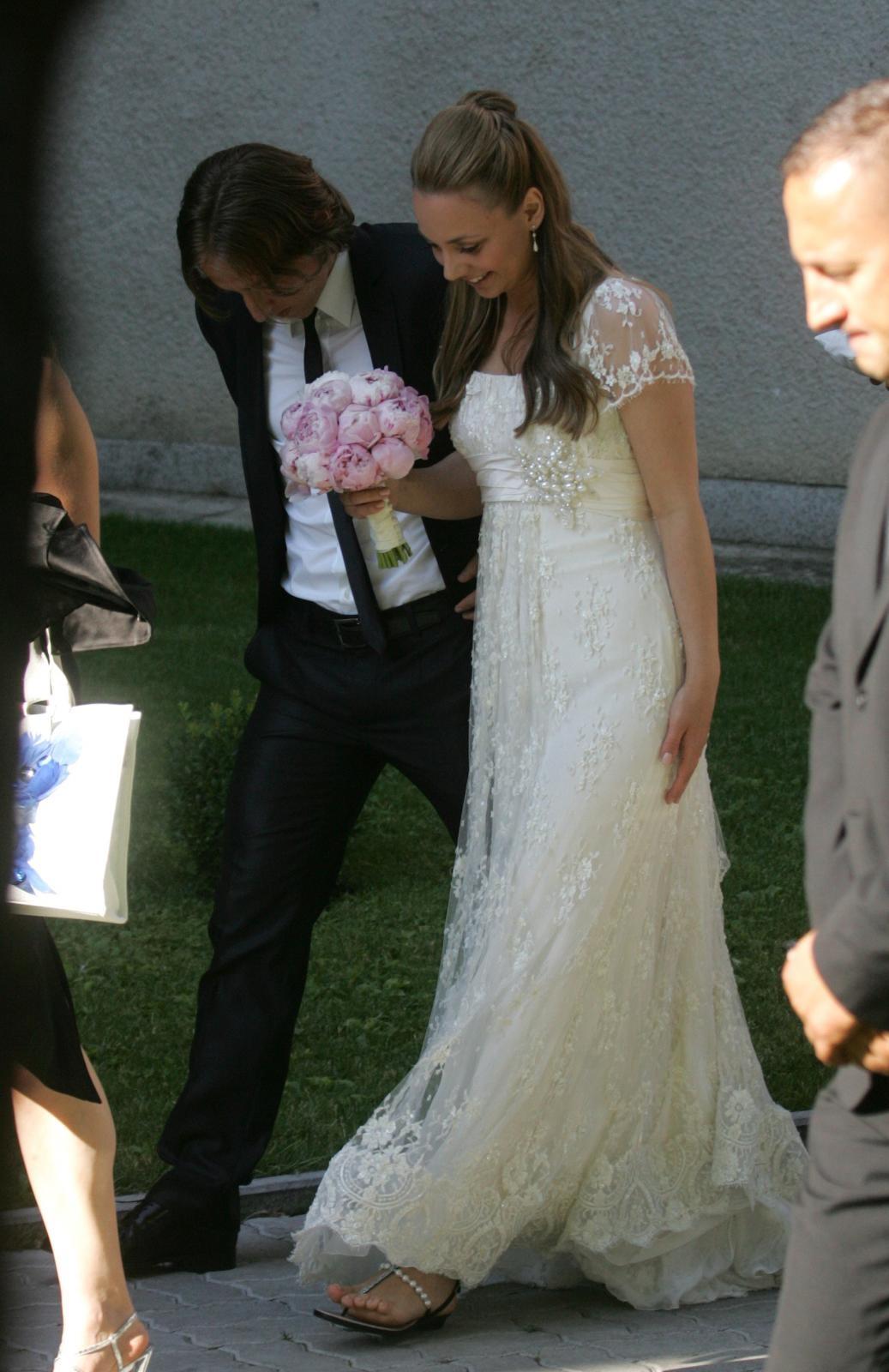 11.06.2011.,Zagreb - Luka i Vanja Modric vjencali su se u  crkvi Gospe Lurdske Photo: Robert Anic/PIXSELL