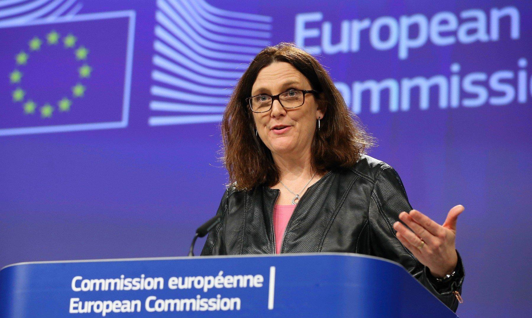 Povjerenica Europske komisije za trgovinu Cecilia Malmstrom
