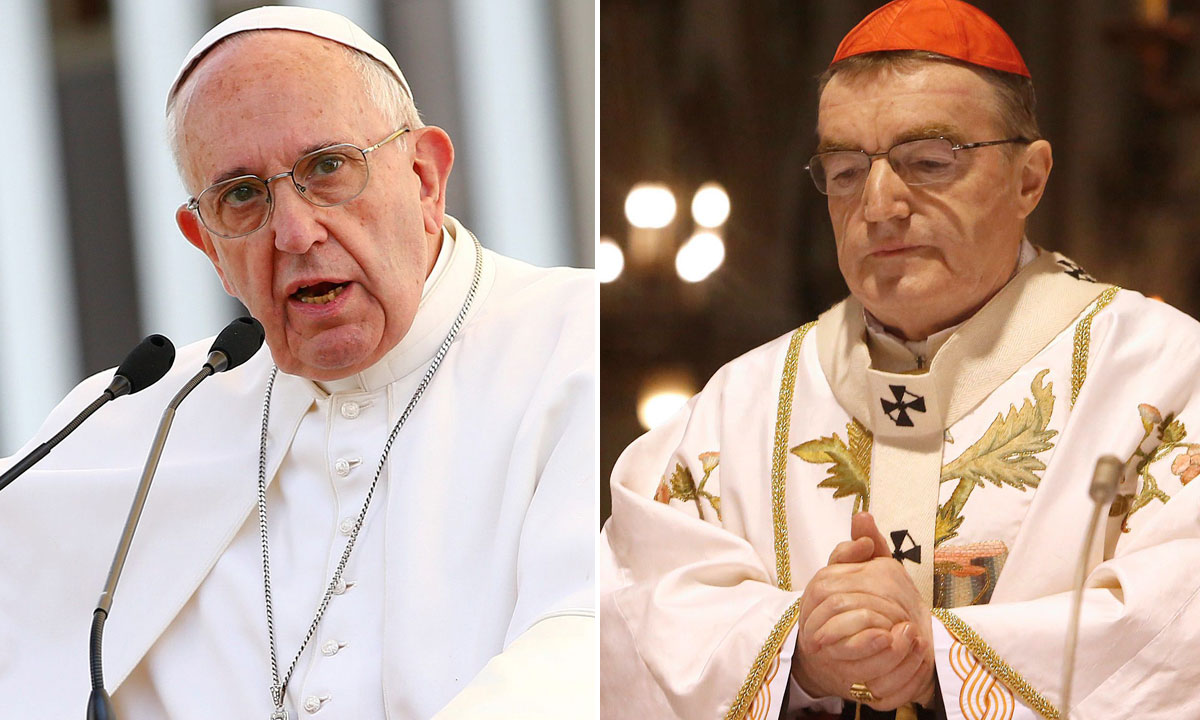 papa Franjo i Josip Bozanić